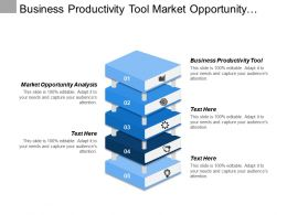 Business Productivity Tool Market Opportunity Analysis Sales Process Steps Cpb