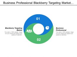 Business Professional Blackberry Targeting Market Local Marketing Social Media