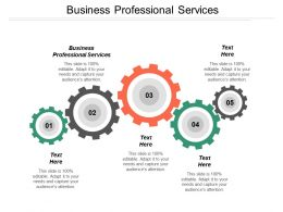 Business Professional Services Ppt Powerpoint Presentation Pictures Professional Cpb