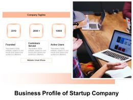 Business Profile Of Startup Company