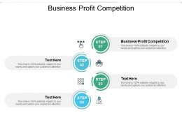 Business Profit Competition Ppt Powerpoint Presentation Inspiration Cpb