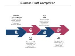 Business Profit Competition Ppt Powerpoint Presentation Summary Tips Cpb