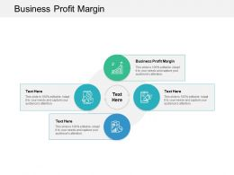 Business Profit Margin Ppt Powerpoint Presentation File Designs Cpb