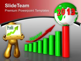 Business Profit Year 2013 Powerpoint Templates Ppt Themes And Graphics 0113