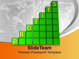 Business Profits Money PowerPoint Templates PPT Themes And Graphics 0113