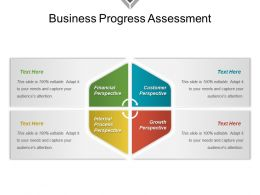 Business Progress Assessment Example Of Ppt