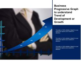 Business Progressive Graph To Understand Trend Of Development Or Growth