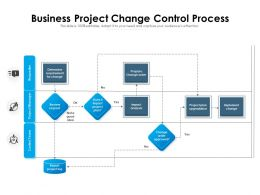 Business Project Change Control Process