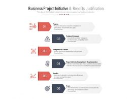 Business Project Initiative And Benefits Justification