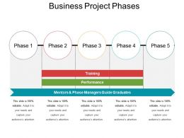 Business Project Phases