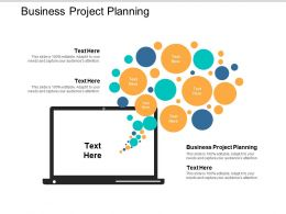 Business Project Planning Ppt Powerpoint Presentation File Deck Cpb