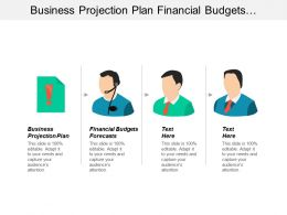 Business Projection Plan Financial Budgets Forecasts Situational Analysis Tools Cpb