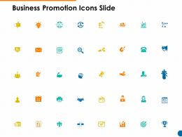 Business Promotion Icons Slide Portfolio Ppt Powerpoint Presentation Diagram Lists