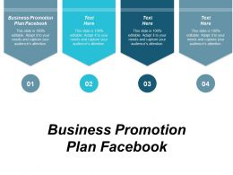 Business Promotion Plan Facebook Ppt Powerpoint Presentation Pictures Smartart Cpb