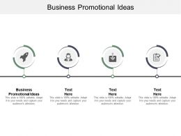 Business Promotional Ideas Ppt Powerpoint Presentation Outline Slides Cpb
