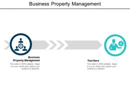 Business Property Management Ppt Powerpoint Presentation Ideas Background Designs Cpb