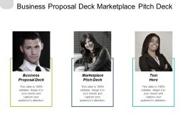 Business Proposal Deck Marketplace Pitch Deck Promotions Management Cpb