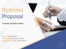 Business Proposal Powerpoint Presentation Slides