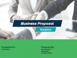 Business Proposal Template Powerpoint Presentation Slides