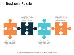 Business Puzzle Ppt Slides Influencers