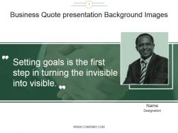 Business Quote Presentation Background Images