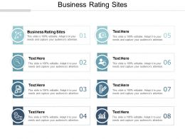 Business Rating Sites Ppt Powerpoint Presentation File Grid Cpb
