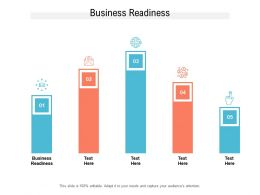 Business Readiness Ppt Powerpoint Presentation Samples Cpb