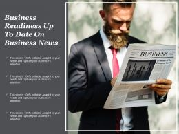 Business Readiness Up To Date On Business News