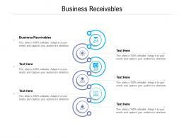 Business Receivables Ppt Powerpoint Presentation Styles Portrait Cpb