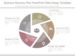 Business Recovery Plan Powerpoint Slide Design Templates