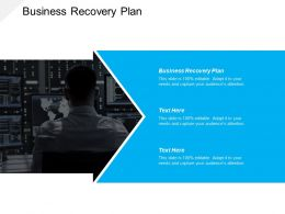 Business Recovery Plan Ppt Powerpoint Presentation Ideas Portrait Cpb