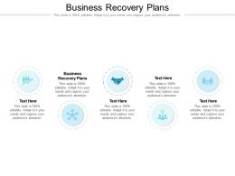 Business Recovery Plans Ppt Powerpoint Presentation Professional Designs Cpb