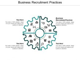 Business Recruitment Practices Ppt Powerpoint Presentation Icon Objects Cpb