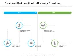 Business Reinvention Half Yearly Roadmap