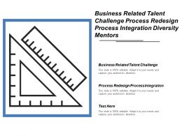 Business Related Talent Challenge Process Redesign Process Integration Diversity Mentors