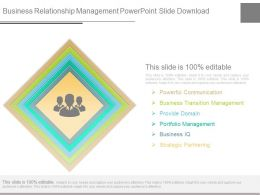 Business Relationship Management Powerpoint Slide Download