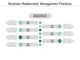 Business Relationship Management Practices Ppt Powerpoint Presentation Image Cpb