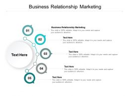 Business Relationship Marketing Ppt Powerpoint Presentation Inspiration Icons Cpb