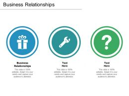 Business Relationships Ppt Powerpoint Presentation Professional Outfit Cpb