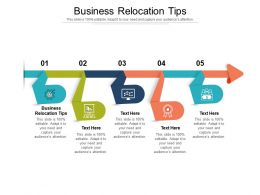 Business Relocation Tips Ppt Powerpoint Presentation Pictures Ideas Cpb