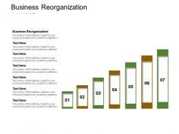 Business Reorganization Ppt Powerpoint Presentation Gallery Graphics Tutorials Cpb