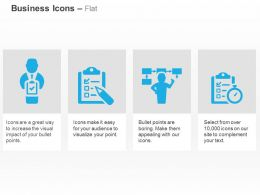 Business Report Analysis Flow Chart Checklist Ppt Icons Graphics