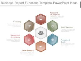 Business Report Functions Template Powerpoint Ideas