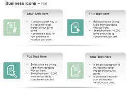 business_report_locked_unlocked_search_checklist_ppt_icons_graphics_Slide01