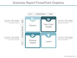 Business Report Powerpoint Graphics