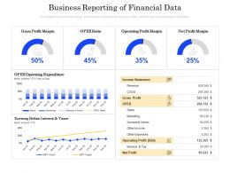 Business Reporting Of Financial Data
