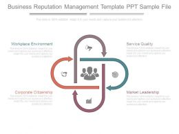 Business Reputation Management Template Ppt Sample File