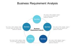 Business Requirement Analysis Ppt Powerpoint Presentation Ideas Vector Cpb