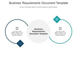 Business Requirements Document Template Ppt Powerpoint Presentation Gallery Influencers Cpb