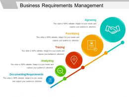 Business Requirements Management Powerpoint Slide Show